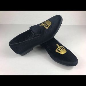 Steven Madden Gold Crown Loafers  Size 11
